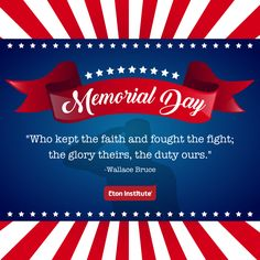 Honoring the fallen heroes of America this Memorial Day.