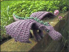 Dragón amigurumi crochet