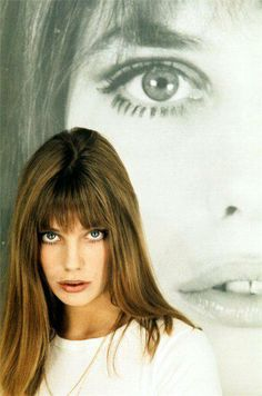 """Jane Birkin a British Born girl who married a french man - and lived life  mostly as """"french girl""""..."""