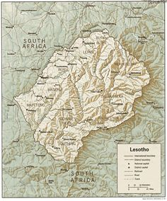Guide to the African country of Lesotho South Afrika, Travel Souvenirs, African Countries, Travel Companies, Travel Planner, Africa Travel, Where To Go, Vacation Spots, Adventure Travel