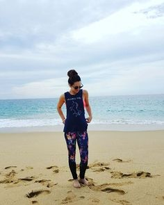 ...it is possible to choose peace over worry ☮️ #peaceoverworry #peace #loveyourselffirst #leggings #sportsbra #vacayvibes