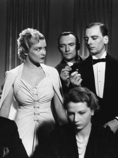 Madeleine Carroll in Hitchcock's The Secret Agent (1936)