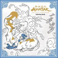 Avatar Last Airbender Adult Coloring Book