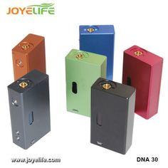 1:1 clone dna30 MOD hot sale DAN 30 mechanical 30w dna 30 mod box mechanical mod 2400mAh with 18650 battery Free shipping!