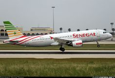 Senegal Airlines 6V-AII Airbus A320-214 aircraft picture
