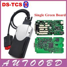 62.00$  Buy now - http://alion2.worldwells.pw/go.php?t=32779351597 - TCS CDP One Single Green Board 2015.1 Or 2014.R2 DVD+ Carton box DS NEW VCI Without Bluetooth for automotive car and truck No BT 62.00$
