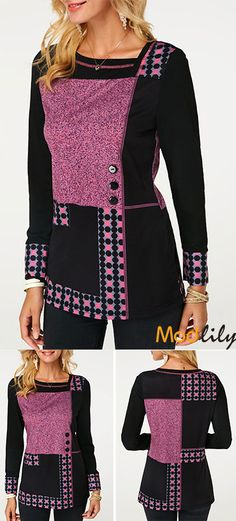 trendy tops for women online on sale Stylish Outfits, Cute Outfits, Fashion Outfits, Fashion 2018, Fashion Trends, Fashion Ideas, Trendy Tops For Women, Fashion Sewing, African Fashion
