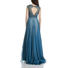 MacDuggal Women's Beaded Fit and Flare Cap Sleeve Evening Gown | Overstock.com…