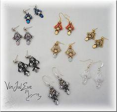 Schema Hipona earrings by Vinjuleve on Etsy