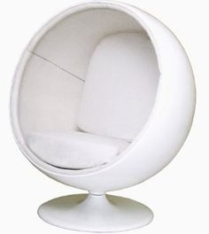 Eero Aarnio Ball Chair (White/White) Egg chair sitty thing visible in the Ghost's flat drunk deduction scene in Ball Chair, Egg Chair, Cool Stuff, Deduction, Johnlock, Baker Street, White White, Sherlock, Bbc