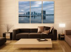 Toronto Cityscape Canvas Print 3 Panels Print Wall Decor Wall Art Canada Cityscape Photography Print for Home and Office Wall Decoration by ZellartCo TAGS canada abstract art wall art city photography canvas print urban city canvas photo wall decor home decor room decor wall painting photo print cityscape canvas