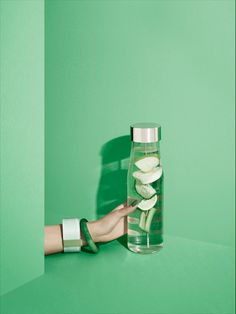 """MyFlavour carafe """"Green Power"""" by Eva Solo"""