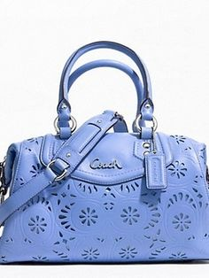 $244 SOLD! Authentic coach Ashley lace leather satchel. Brand new with tags. at https://shopsto.re/items/1345 #handbags #satchel