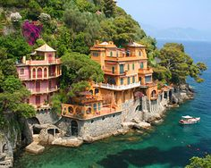 Seaside Homes, Portofino, Italy  Can you imagine waking up to this every morning?