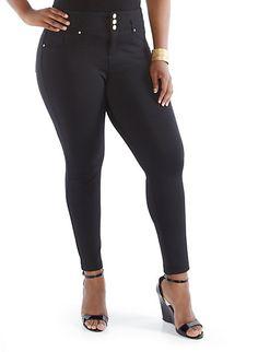 Plus-Size Stretch Pants
