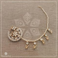 This item is unavailable Indian Jewelry Earrings, Indian Jewelry Sets, Jewelry Design Earrings, Nose Jewelry, Wedding Jewelry, Necklace Designs, Gold Jewelry Simple, Stylish Jewelry, Fashion Jewelry