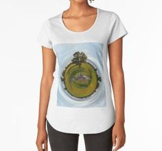 Frauen Premium T-Shirts: Motiv Planet der Wildtauben Mini, Planets, Shirts, Accessories, Round Collar Shirt, Dress Shirts, Shirt, Jewelry Accessories