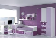 1000 images about cuartos on pinterest girl rooms for Disenos de interiores de cuartos juveniles
