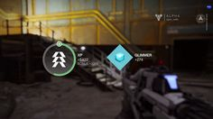 Destiny ps4 game | Gameplay | Reward | #ui #interface #flat #scifi #destiny #game