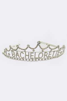 Super adorable and delicate tiaras for the bachelorette party! Also makes great shower or bridesmaids gifts!
