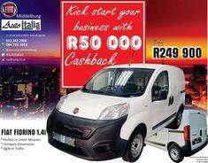 Don't Let The Lock Down Let You Backtrack. Get R50 000 Cashback! Fiat, Let It Be, Cars, Autos, Car, Automobile, Trucks