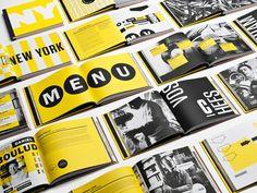 Imagen visual de la Vittoria. Gastronomía y diseño entre París y Nueva York | Identidad corporativa | Experimenta