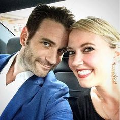 Collin Donnell & his wife Patti Murin Petra, Tommy Merlyn, Colin Donnell, Chicago Justice, Jesus Christ Superstar, Chicago Med, John Denver, Jersey Boys, Celebs