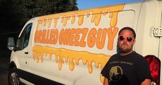 Everyone loves grilled cheese sandwiches. Learn how Michael AKA the Grilled Cheese Guy started his business. Grilled Cheese Food Truck, Concession Trailer, Grilling, Competition, Sandwiches, Interview, Guys, Learning, Business