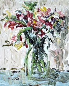 M i a C h a p l i n: Photo South Africa Art, Art Haus, Texture Painting, Still Life, Palette, Paintings, Artists, Contemporary, Flowers