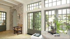 Mcalpine home, kitchen door color option