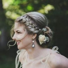 Romantic Braided Updo