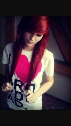 Картинки по запросу red hair scene girl