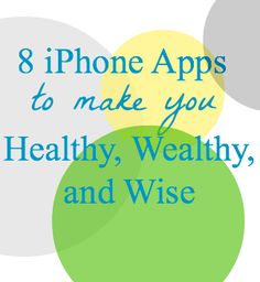 Great apps to help with fitness, money, etc