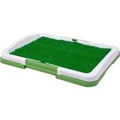 Artificial Grass Bathroom Mat for Puppies and Small Pets- Portable Potty Trainer for Indoor and Outdoor Use by Petmaker- Puppy Essentials, x Puppy Training Tips, Dog Training Pads, Crate Training, Toilet Training, Fake Grass For Dogs, House Breaking Dogs, Portable Potty, Potty Trainer, Dog Toilet