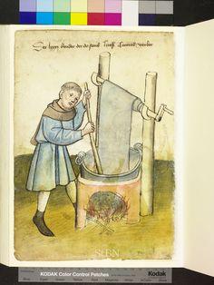 Mendel Housebook, Amb. 317.2° Folio 37 verso, c 1425, Nuremberg (Nürnberg)