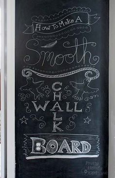 Have you ever wished you had a chalkboard wall in your home? But, you didn't think you could create one because you have textured walls or damaged drywall? I feel your pain! We have a little wall between the kitchen and the dining room that was the perfect spot for a chalkboard wall. But the …