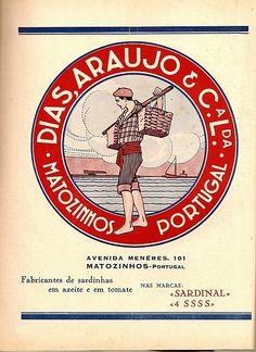 Indústria conserveira - publicidade dos anos 30