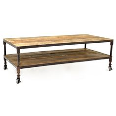 Hillstone Coffee Table $649.00 #homedesignstoremiami
