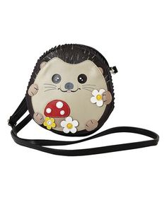 Another great find on #zulily! Brown Baby Hedgehog Crossbody Bag #zulilyfinds