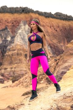 21 Days to Total-Body Fitness Athletic Outfits, Athletic Wear, Womens Workout Outfits, Sport Outfits, Sport Fashion, Fitness Fashion, Zumba, Athleisure, Sporty Girls