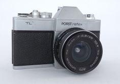 PORST REFLEX TL 35mm + ALFO SUPERCOLOR MC AUTO 2,8/28mm 52ø VINTAGE