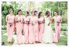 17 Pretty Perfect Bridesmaid Sarees - Aisle Perfect