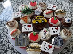 New York Cupcakes by Royalty_Cakes, via Flickr