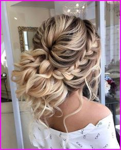 27 braided hairstyles for long hair that make you beautiful - 27 braided . - 27 Braided Hairstyles For Long Hair That Make You Beautiful – 27 Braided Prom Hairstyles For Long - Homecoming Hairstyles, Wedding Hairstyles For Long Hair, Braids For Long Hair, Wedding Hair And Makeup, Prom Updo, Hair Wedding, Quinceanera Hairstyles, Wedding Rings, Boho Wedding