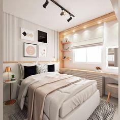 Modern Home Decor Bedroom Small Room Bedroom, Teen Bedroom, Bedroom Colors, Bedroom Apartment, Home Decor Bedroom, Bedroom Ideas, Bedrooms, Desing Inspiration, Design Ideas