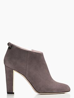 Netta Booties, DARK TAUPE from Kate Spade in Market Street - The Woodlands