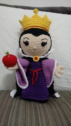 Amigurumi Rainha Má (Evil Queen)