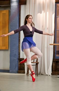 Tara from Dance Academy (Xenia Goodwin) omg I love this show I cryed wheb sammie died