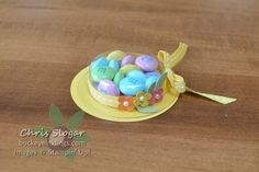 Spring is in the Air  Treat cup Easter Hat--so cute!
