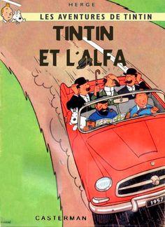 Tintin et l'Alfa